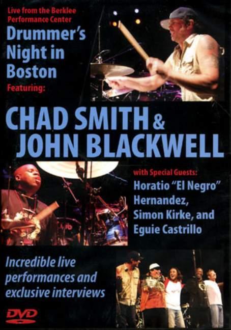 Marque De Tendance Batteur De Nuit à Boston 2005 Avec Chad Smith Et John Blackwell Blackwell-afficher Le Titre D'origine